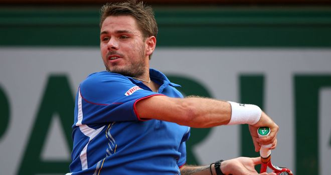 Stanislas Wawrinka: Seeded second behind Roger Federer in Gstaad