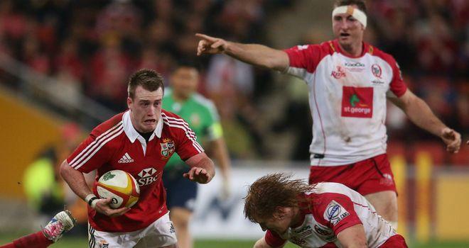 Stuart Hogg: Starts at No 10 for Lions