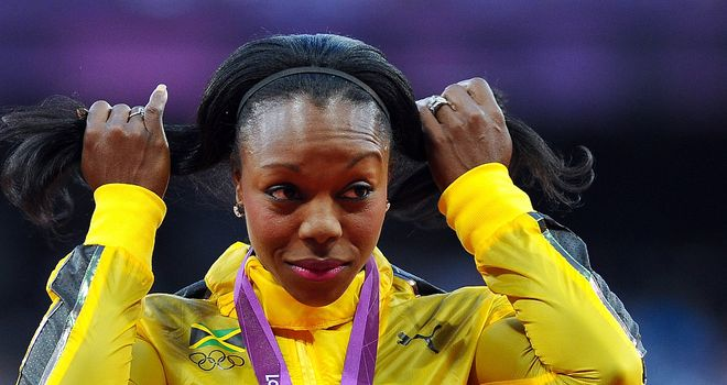 Veronica Campbell-Brown: Two-time Olympic champion