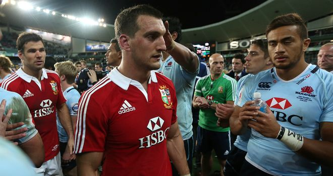 Sam Warburton: Happy to come through relatively unscathed in Sydney