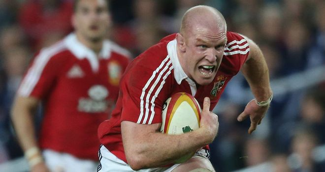 Paul O'Connell: Will miss the rest of the Lions tour