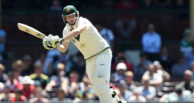 Steve Smith: Australian batsman was dismissed by Trent Johnston for 133