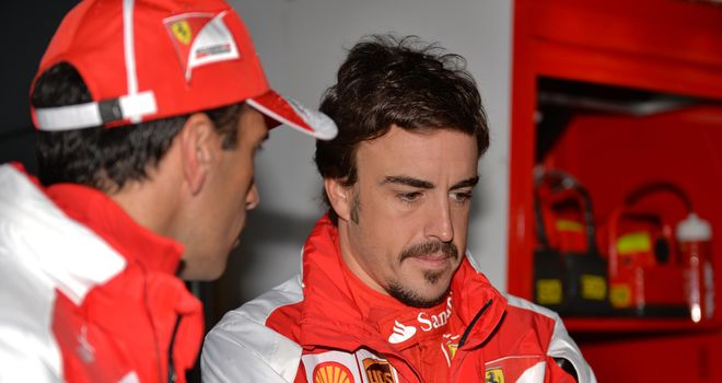 Fernando Alonso: Will start from the fifth row on Sunday