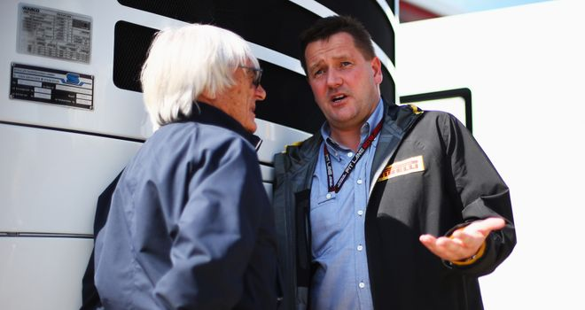 Bernie Ecclestone: Says Pirelli are able to complete two unrestricted tests