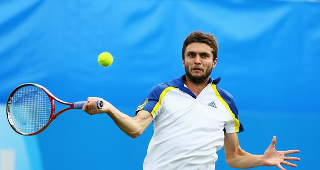 Gilles Simon: Had missed the US Open in New York due to a hip injury
