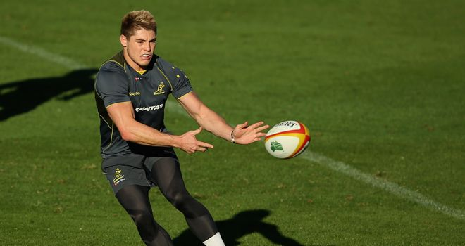 James O'Connor: Starts at No 10 for Australia