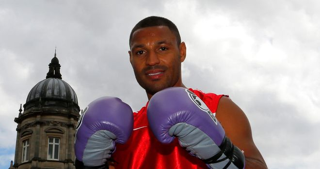 Kell Brook appeared at a public workout in Hull at the weekend