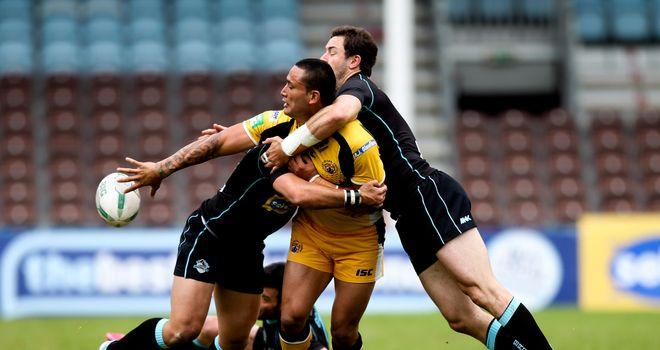 Weller Hauraki: late try in Castleford's comeback win