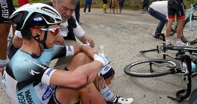 Tony Martin: German rider fighting through the pain barrier