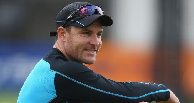Brendon McCullum: Led New Zealand to series victory over England