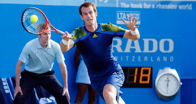 Andy Murray: Gaining valuable match time ahead of Wimbledon