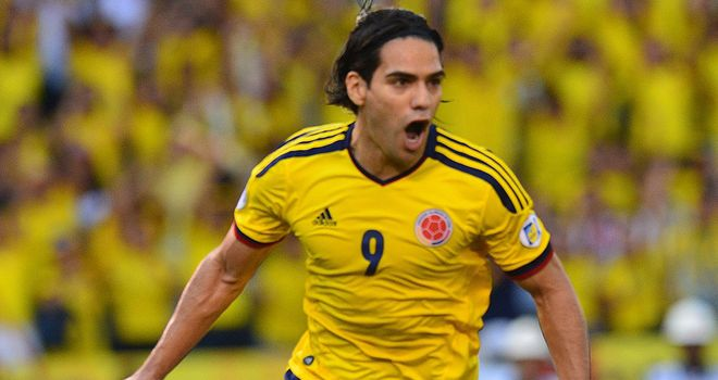 Radamel Falcao: Colombia striker recovering from knee injury