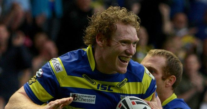 Joel Monaghan: tries either side of half-time for the Wolves