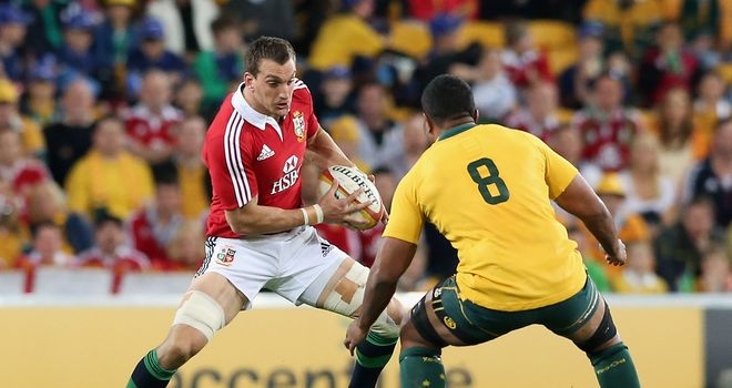 Sam Warburton: Wants to finish off the Wallabies