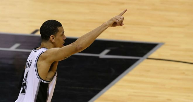 Record Breaker: Danny Green has surpassed Ray Allen's record for three-pointers in an NBA Finals series