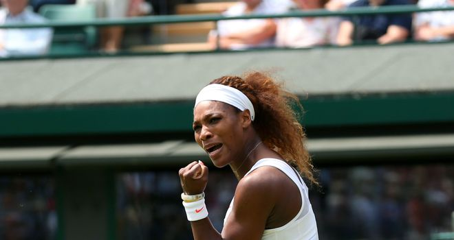 Serena Williams: Was not troubled at all by French youngster Caroline Garcia
