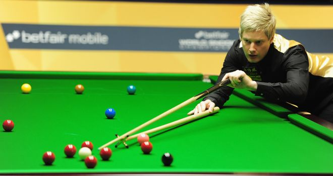 Neil Robertson: Australian finished off victory with breaks of 119 and 90