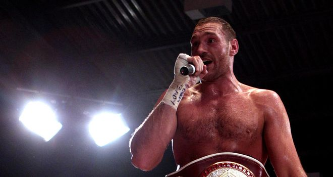 Tyson Fury: Encouraged after meeting with Adam Booth