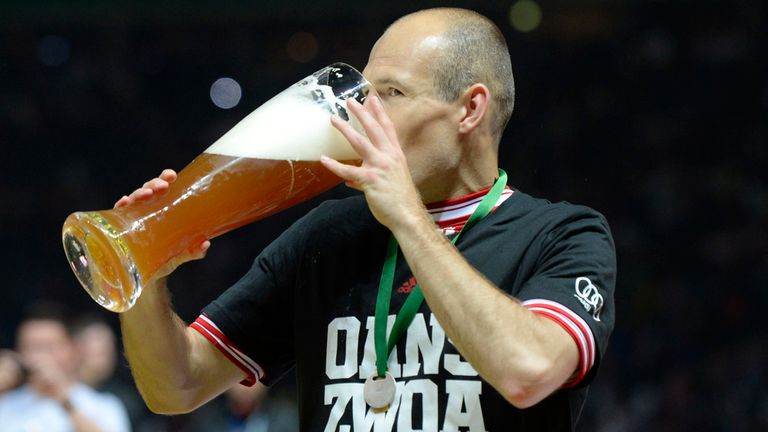 Arjen Robben: Could be offered to Liverpool