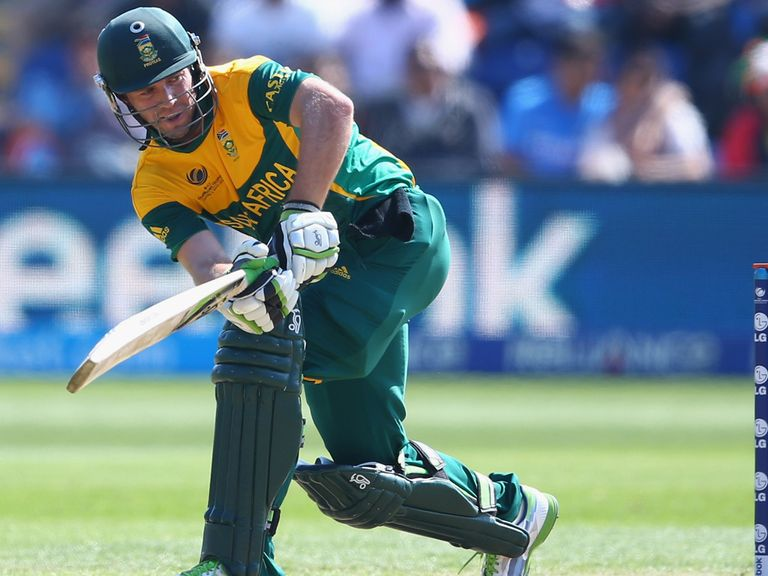 AB de Villiers helped his side to victory at Edgbaston