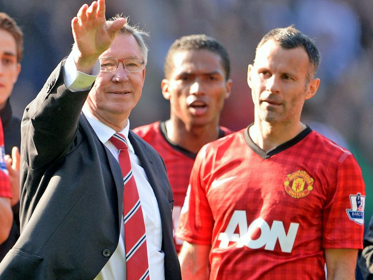 Sir Alex Ferguson: Feels Ryan Giggs should take over