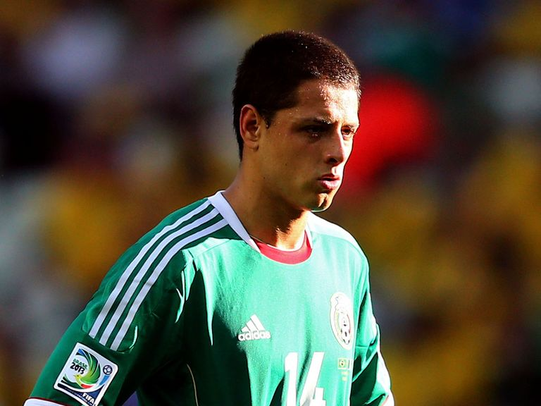 Javier Hernandez: Manchester United striker named in Mexico squad
