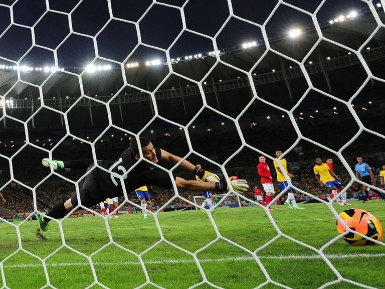 Julio Cesar: Started for Brazil against England