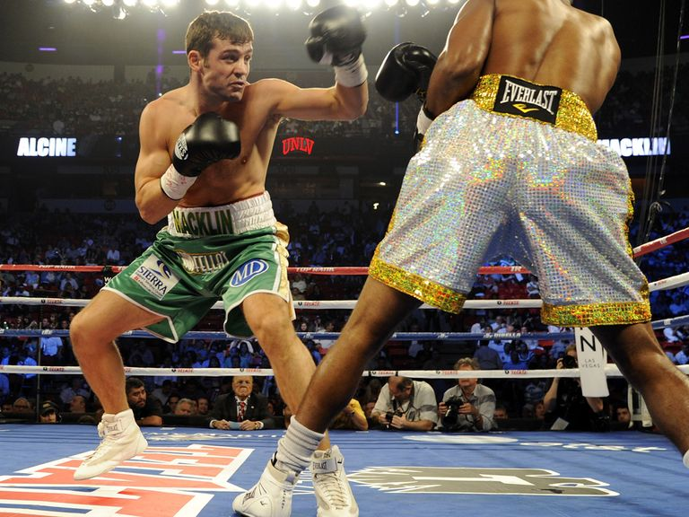 Matthew Macklin: Hoping to land his first world title