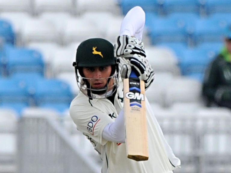 Michael Lumb: Hit a century for Notts