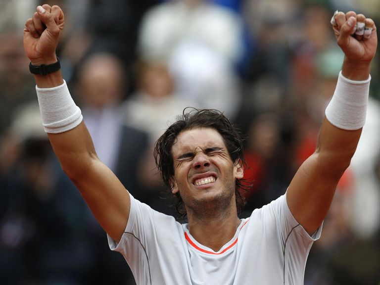 Rafael Nadal: Will he be celebrating again at Wimbledon?