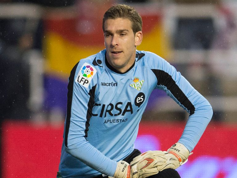 Adrian: Completes his move to West Ham