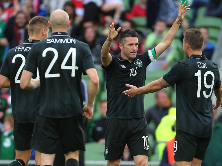 Robbie Keane: Set to win his 126th cap on Friday night