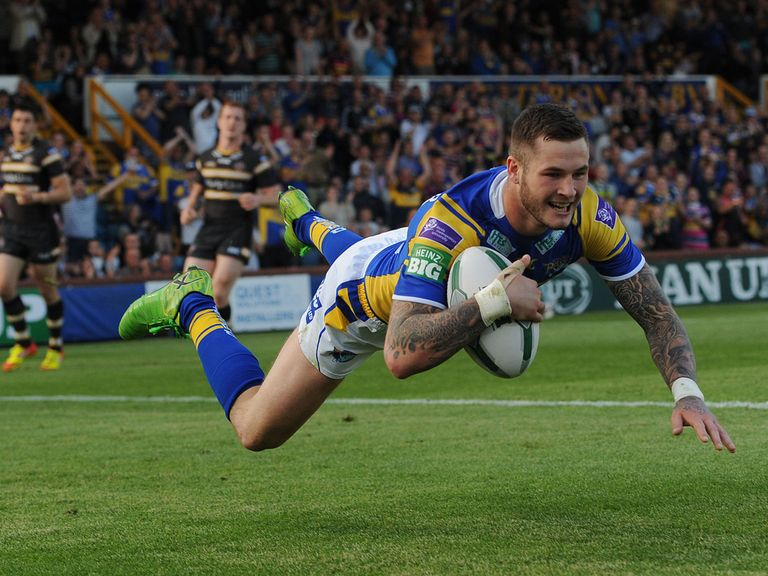 Zak Hardaker: Wants full-back spot