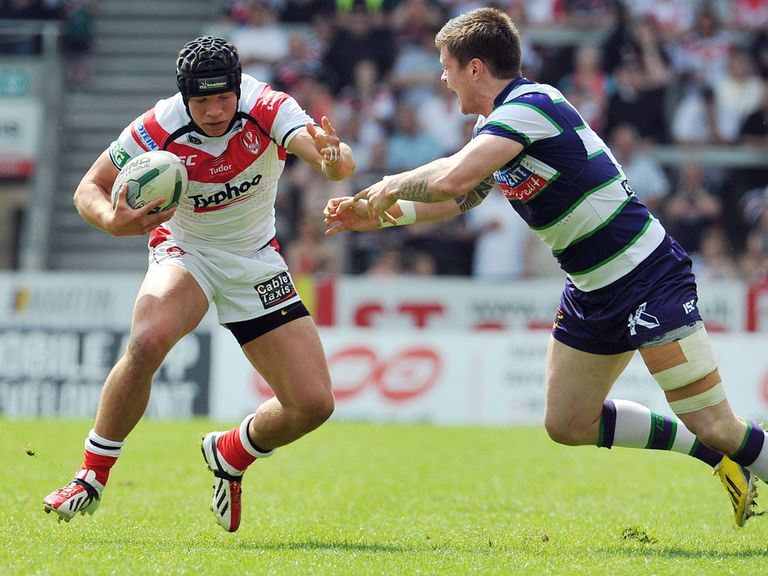 Jonny Lomax: Signed new St Helens contract