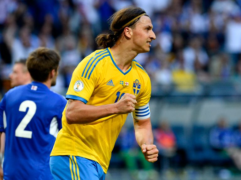 Zlatan Ibrahimovic: Set to face the Republic of Ireland