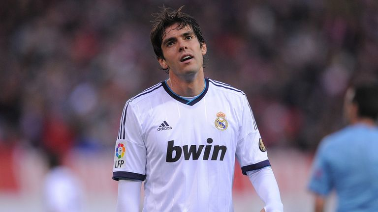 Kaka: Reportedly on his way out of Real Madrid