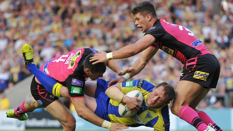 Ben Westwood (C): Scored four tries in comfortable victory over Leeds