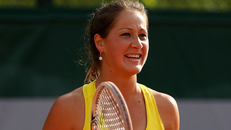 Bojana Jovanovski: The Serbian advanced to the final four in Uzbekistan