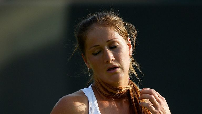 Bojana Jovanovski: Suffered surprise loss to Tunisia's Ons Jabeur