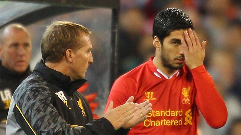 Brendan Rodgers: Rates Luis Suarez in the £100m bracket