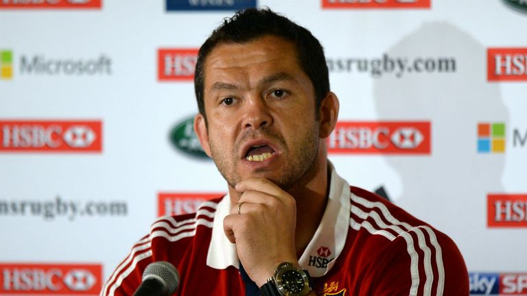 Andy Farrell: Hoping Alex Corbisiero and Jamie Roberts will be right for Wednesday
