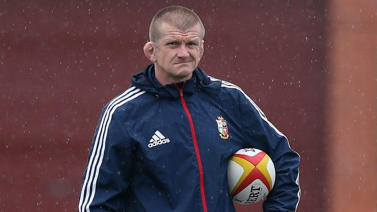 British and Irish assistant coach Graham Rowntree