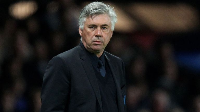 Carlo Ancelotti: Has blasted former club Paris Saint Germain