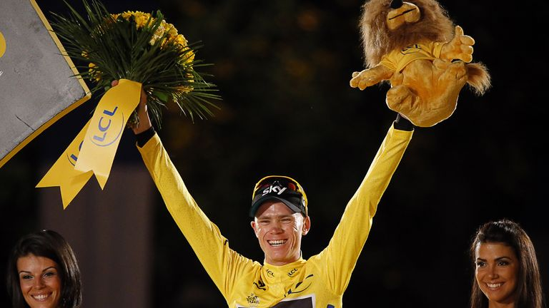 Chris Froome won the Tour de France