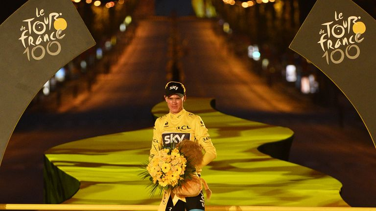 Froome: Proud of his African upbringing