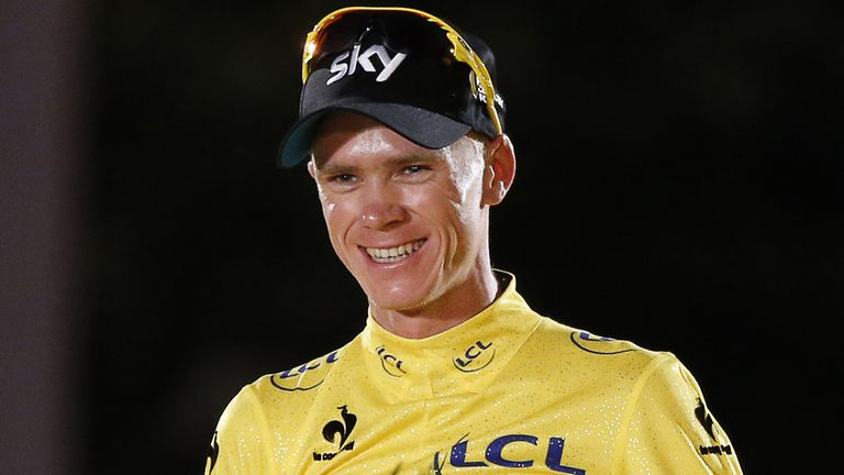 Chris Froome used his victory speech to hail a new era of clean cycling