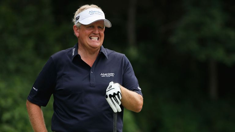 Colin Montgomerie: Wants slow play eradicated