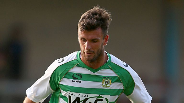 Dan Seaborne: Joins the Glovers on a two-year deal