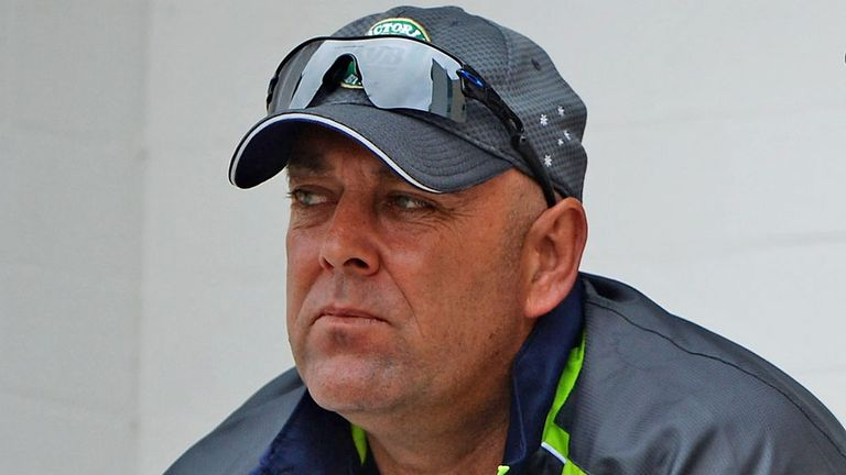 Darren Lehmann watches Ashes action unfold at Trent Bridge