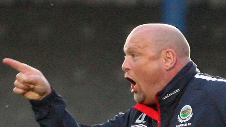 David Jeffery: His Linfield side are into the next round